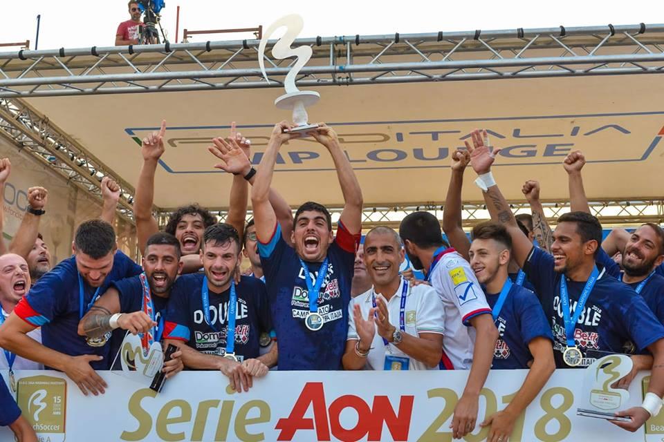 DomusBet Catania vince lo scudetto 2018