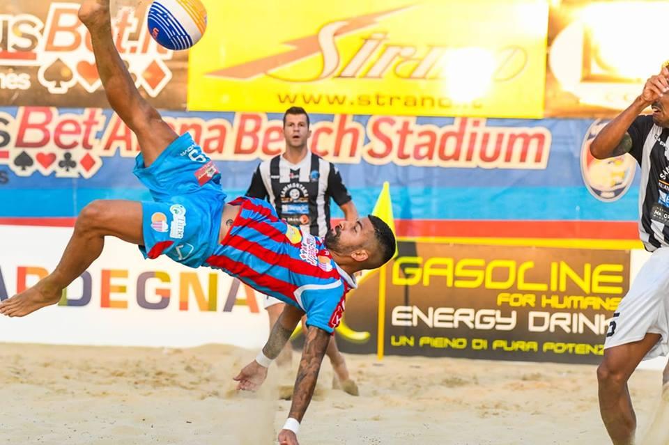 Valanga Catania alle Final Eight di beach soccer
