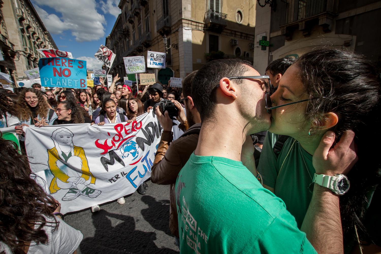 """Catania ambientalista a metà: il racconto del """"nostro"""" Fridays For Future"""