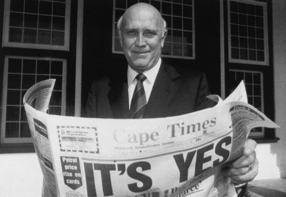 17 marzo 1992: 27 anni fa la fine dell'apartheid