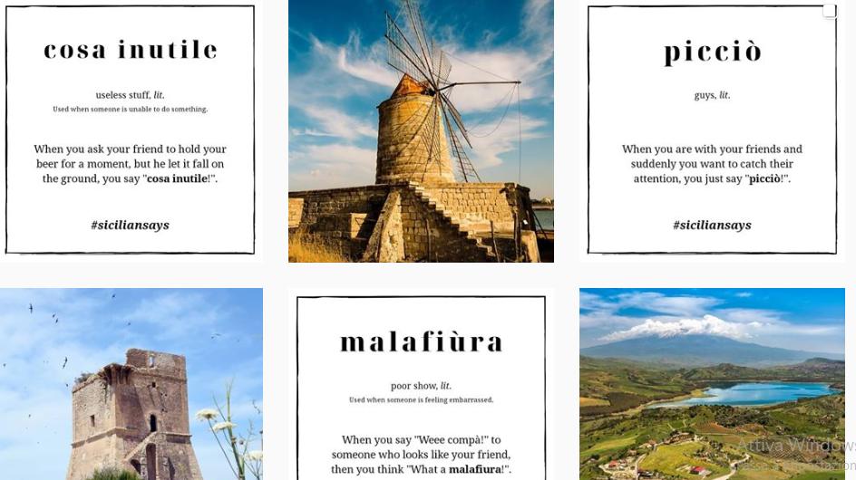 Sicilian Says, in 10mila imparano il dialetto siciliano su Instagram