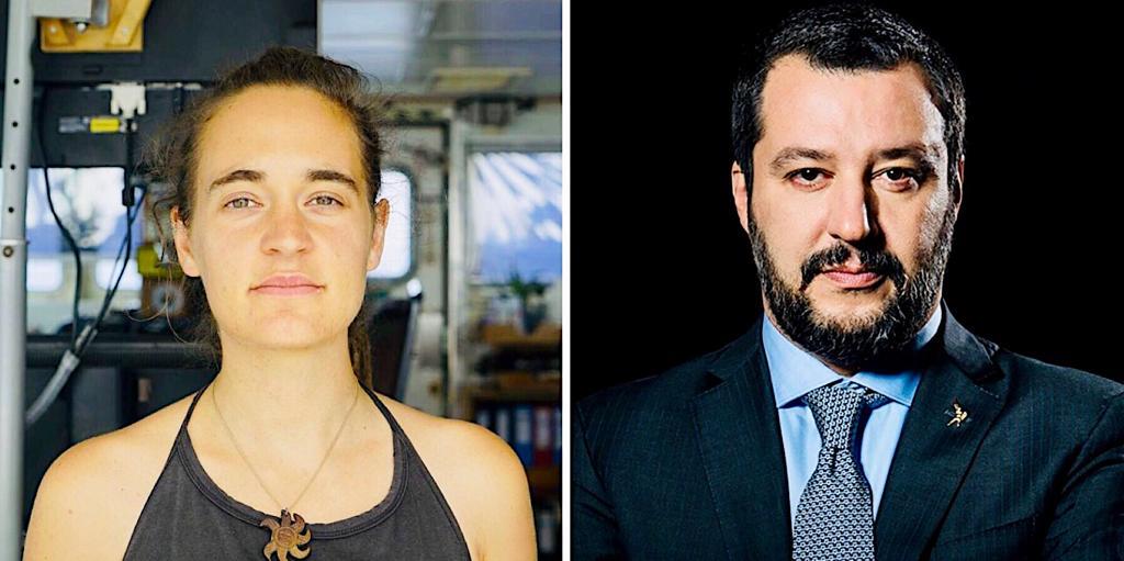 Salvini vs Rackete: la legge è diversa per tutti