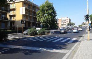 Viale Andrea Doria, Catania, workshop, sovrappasso d'uomo