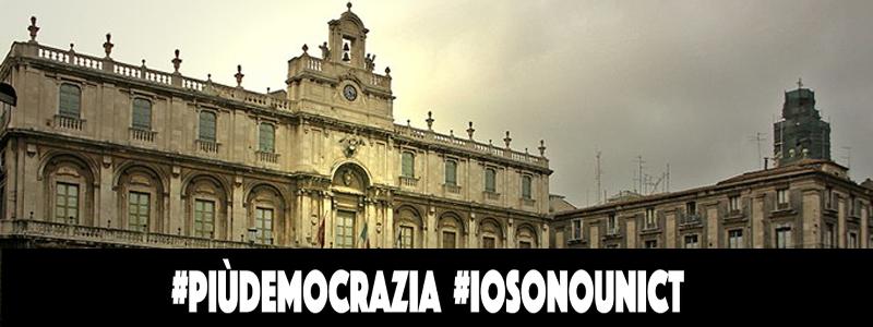 #iosonounict, Più Democrazia nell'elezione del Rettore