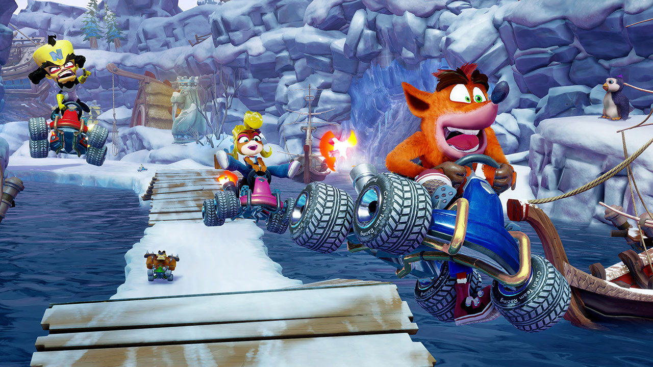 Crash Team Racing Nitro-Fueled: un tuffo nel passato