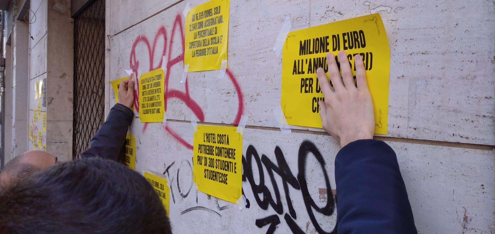 Ex Hotel Costa-Ersu: situazione ancora irrisolta e gli studenti protestano